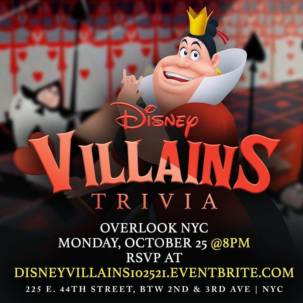 Disney Villains Trivia, 25 October | Event in New York | AllEvents.in