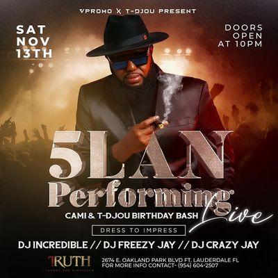 5lan performing live