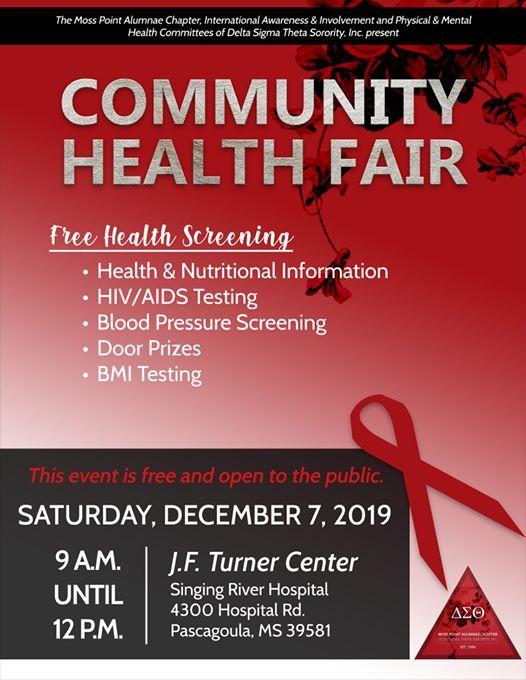 Pascagoula Fair 2020.Red For The Cure Community Health Fair At 4300 Hospital Rd