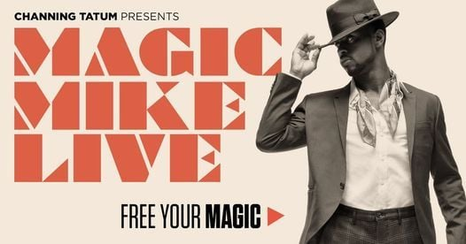 Magic Mike Live | Sydney, 15 April | Event in Alexandria | AllEvents.in