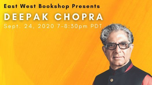 Deepak Chopra - Total Meditation Webinar w Free Book