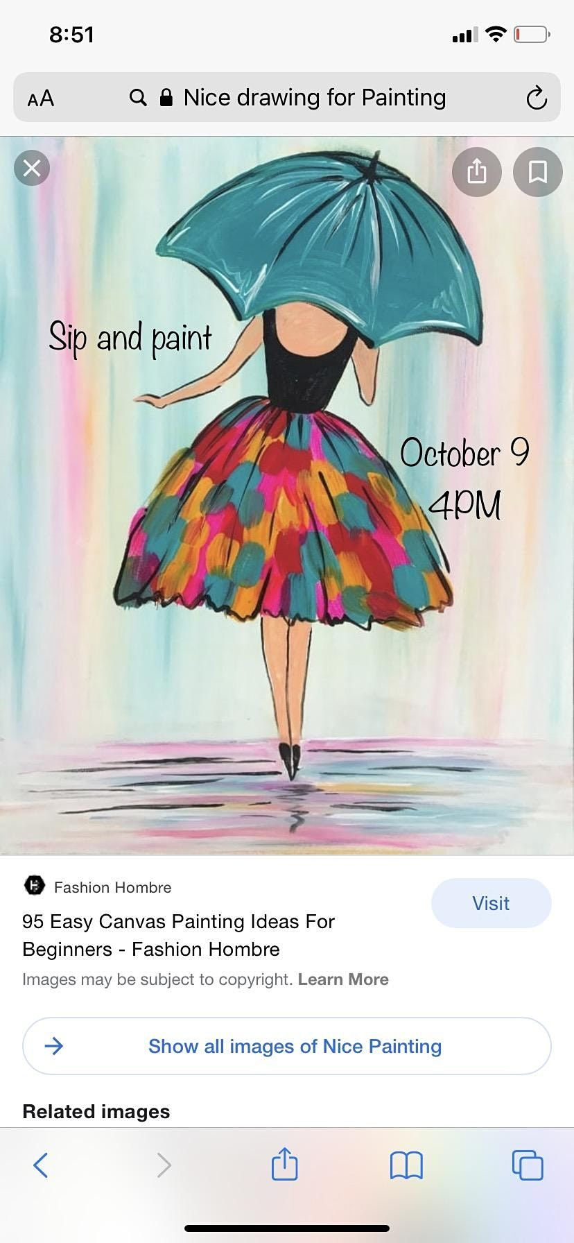 Adult Sip and Paint Party., 9 October   Event in Birmingham   AllEvents.in