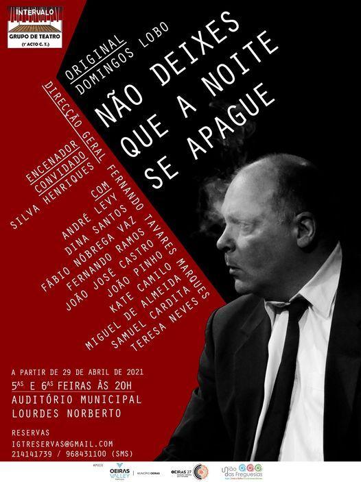 """NÃO DEIXES QUE A NOITE SE APAGUE"", 13 May   Event in Almada   AllEvents.in"