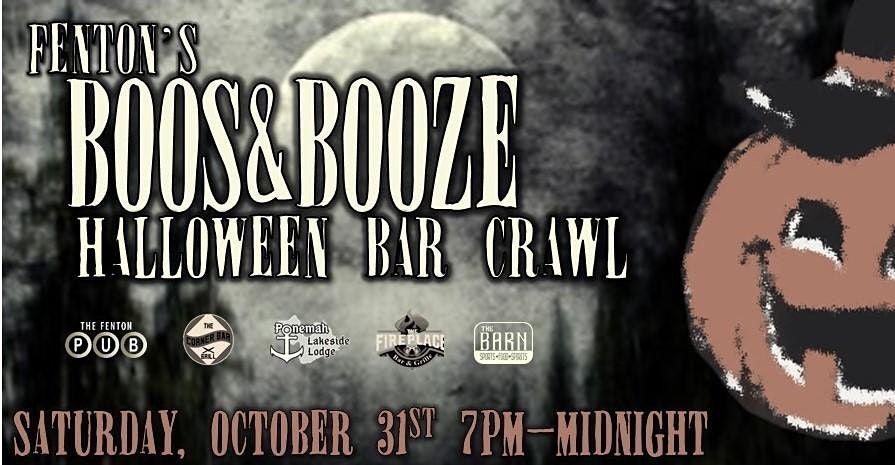 Halloween Bar Crawls 2020 Fentons Halloween Bar Crawl 2020, Ponemah Lakeside Lodge , Fenton