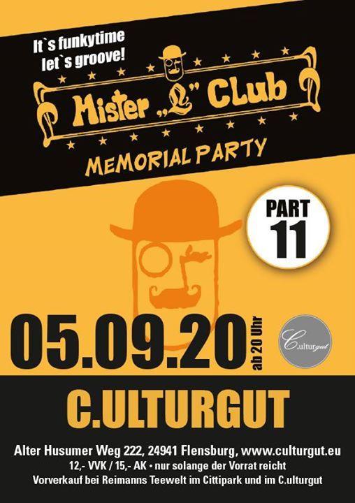 Mister L Memorial Party Part 11