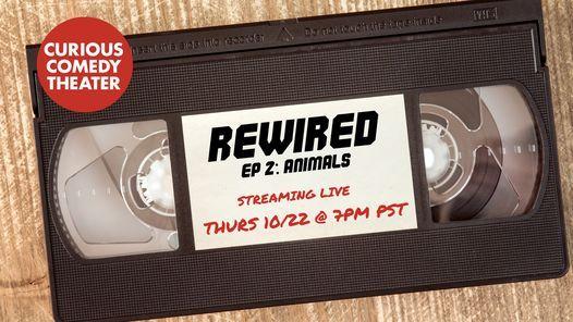 Rewired Episode 2 - Animals, 23 October | Online Event | AllEvents.in