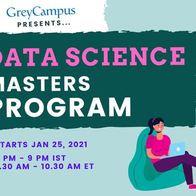 Data Science Masters Program