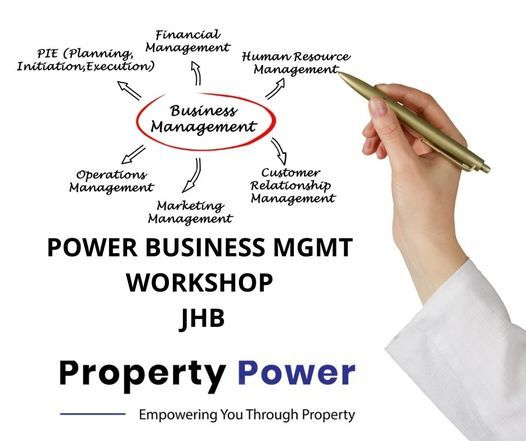 POWER BUSINESS MGMT WORKSHOP - JHB, 25 October | Event in Sandton | AllEvents.in