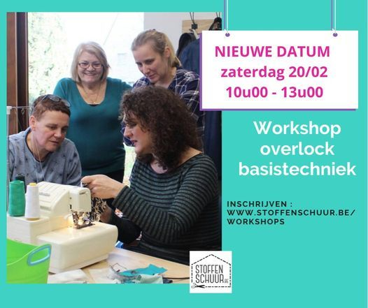 Workshop overlock : de basistechnieken, 16 January | Event in Diest | AllEvents.in
