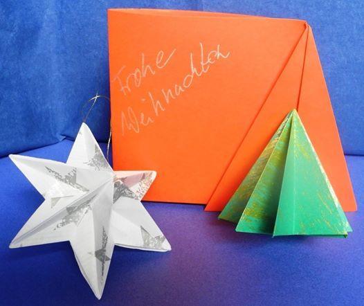 Weihnachtlicher Origami-Workshop