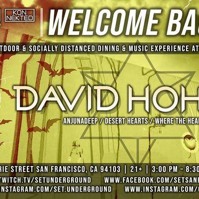 SETs Halloween Saturday w David Hohme (Anjunadeep Desert Hearts)