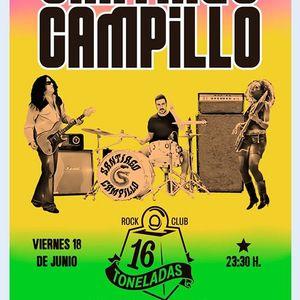 Santiago Campillo en sala 16 Toneladas (Valencia)