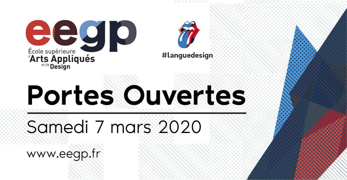 Portes Ouvertes EEGP lcole suprieure darts appliqus et de design 7 mars 2020