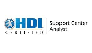 HDI Support Center Analyst 2 Days Virtual Live Training in Kuwait City