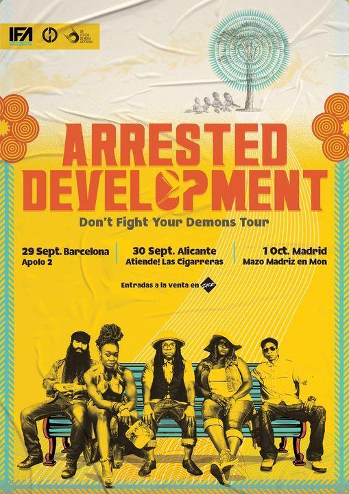 Arrested Development en Barcelona, 29 September   Event in Barcelona   AllEvents.in