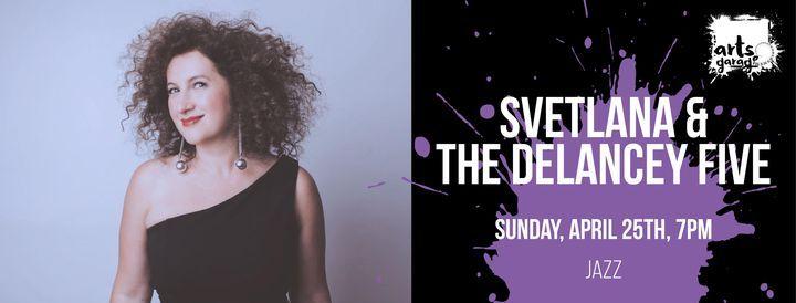 Svetlana & The Delancey Five, 25 April   Event in Delray Beach   AllEvents.in