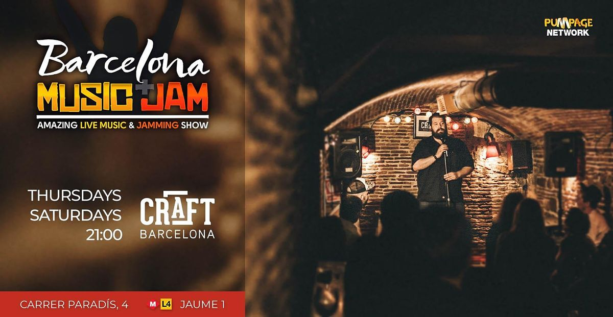 Barcelona Music + Jam = Free Live Music | Event in Barcelona | AllEvents.in