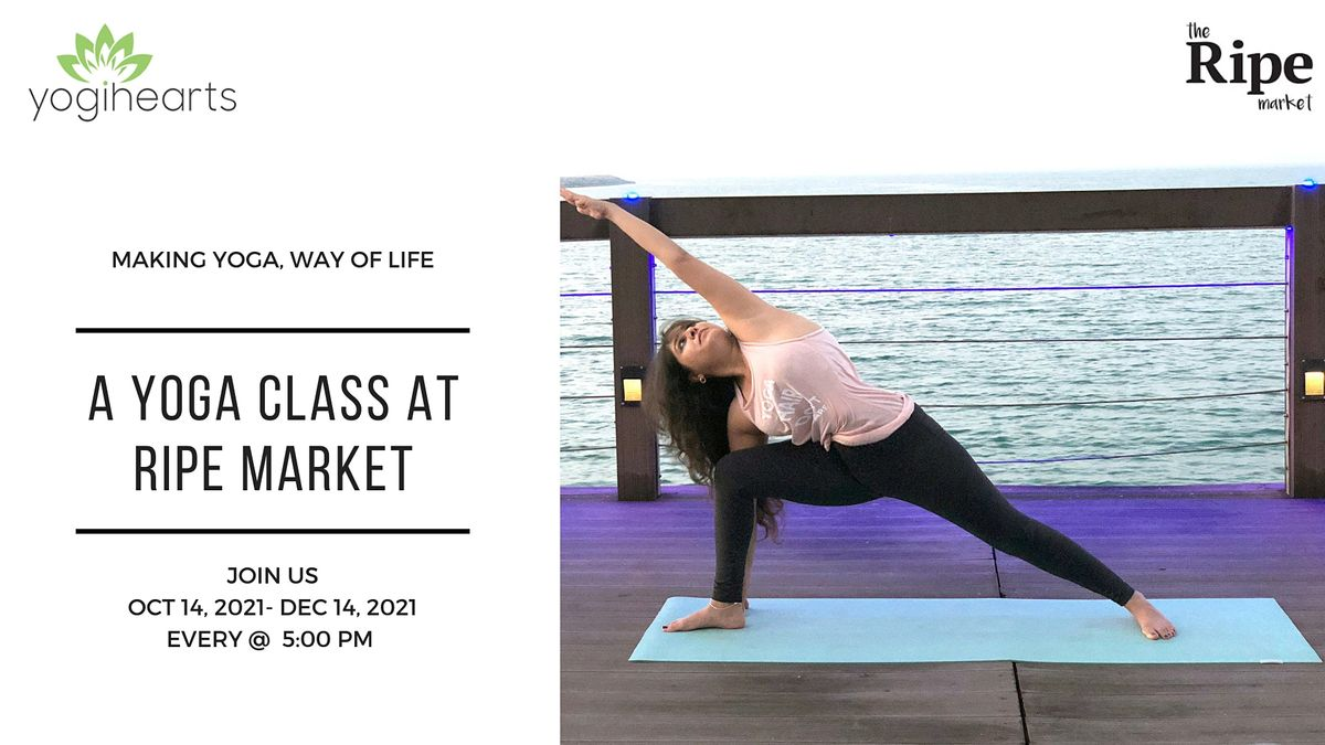 A yoga class at Ripe Market | Event in دبي | AllEvents.in