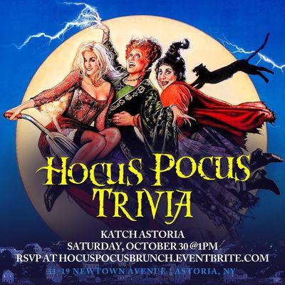 Hocus Pocus Brunch Trivia