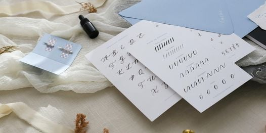 Modern Calligraphy Workshop for Beginners, 13 March   Online Event   AllEvents.in