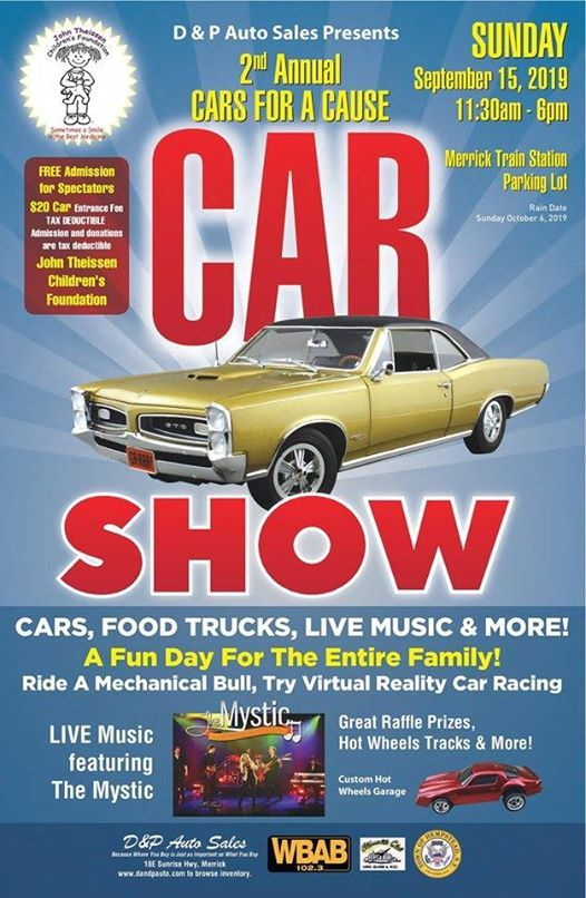 Reality Auto Sales >> 2nd Annual Cars For A Cause At D P Auto Sales Service Merrick