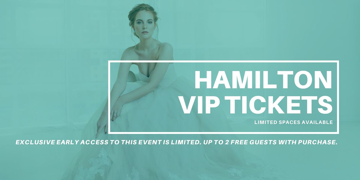 Hamilton Pop Up Wedding Dress Sale VIP Early Access, 7 March | Event in Hamilton | AllEvents.in