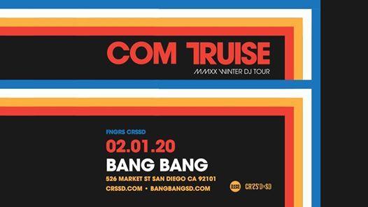 Com Truise at Bang Bang - Saturday 0201  FNGRS CRSSD