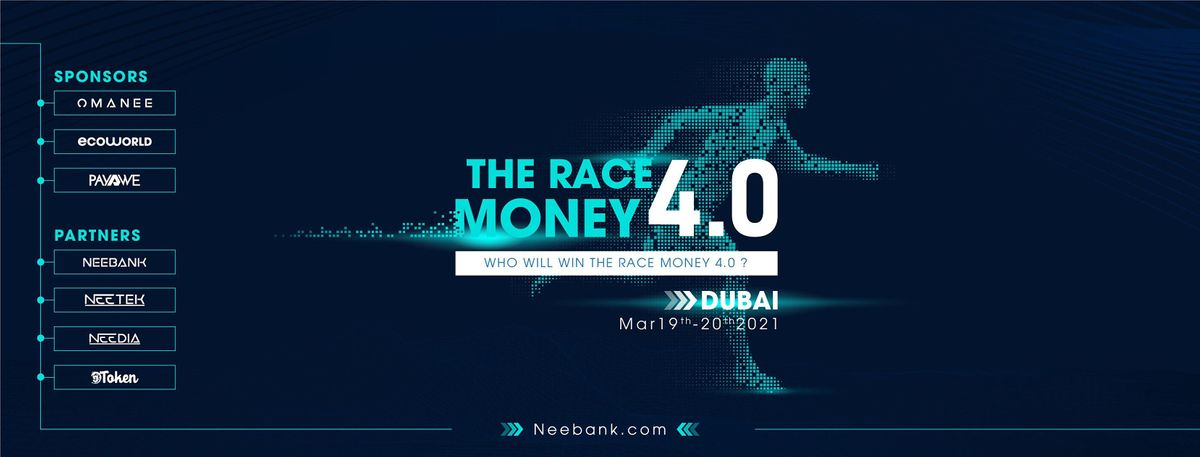 THE RACE MONEY4.0, 19 March | Event in Dubai | AllEvents.in
