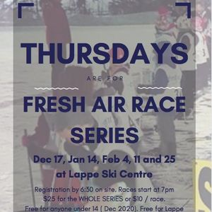 Fresh Air Thursday Night Race Series