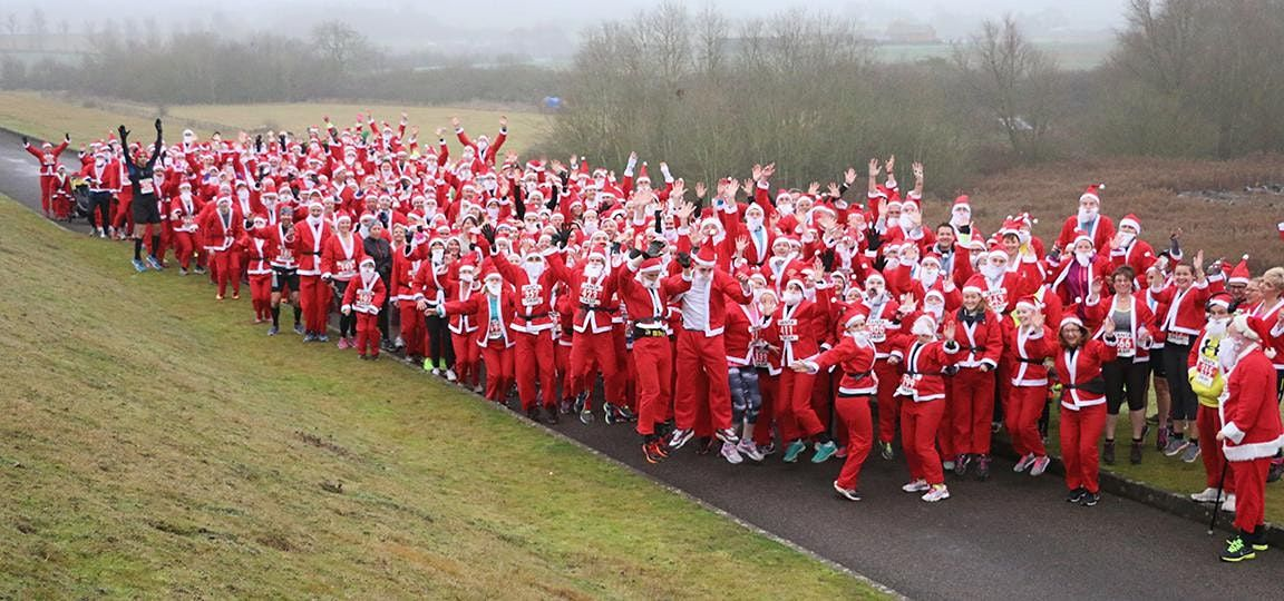 Draycote Water December Santa Dash 10K & 5 Mile 2020