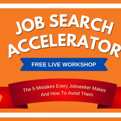 The Job Search Accelerator Workshop  Hyderabad