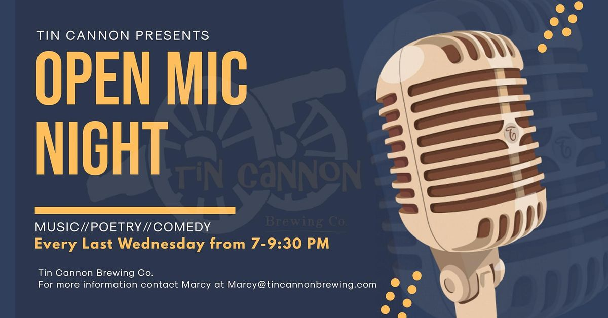 Open Mic Night at Tin Cannon Brewing Co., 27 October | Event in Gainesville | AllEvents.in