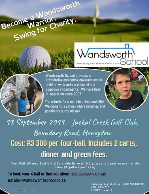 Wandsworth School Golf Day