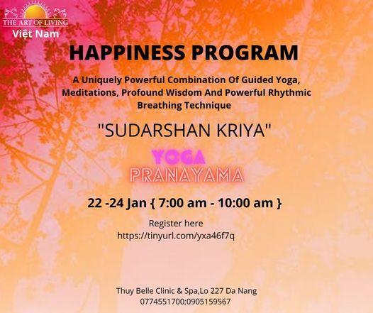 HAPPINESS PROGRAM IN DANANG   Event in Danang   AllEvents.in