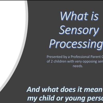 Sensory Processing Awareness Session