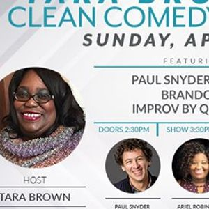 Tara Browns Clean Comedy Brunch