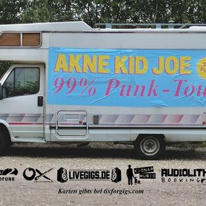 Akne Kid Joe  99% Punk Tour  Trier  Mergener Hof