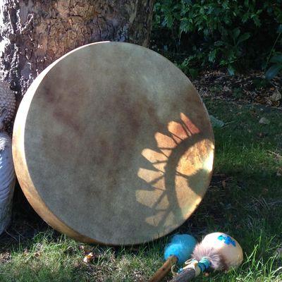 Womens Shamanic Drum Power Circle