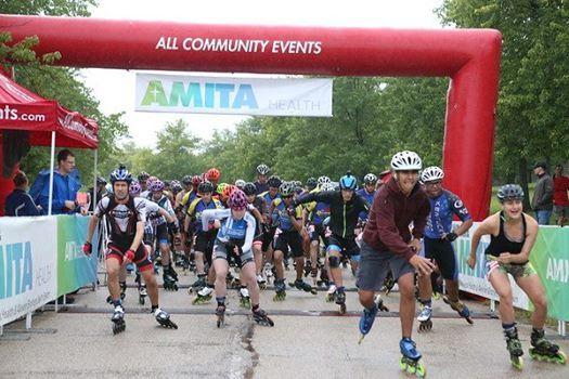 AMITA Health Fit America Fest Inline Marathon Half and 7K