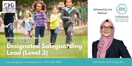Designated Safeguarding Lead (Level 3) - Online Training, 28 October | Online Event | AllEvents.in