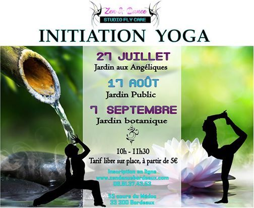 Initiation Yoga au Jardin
