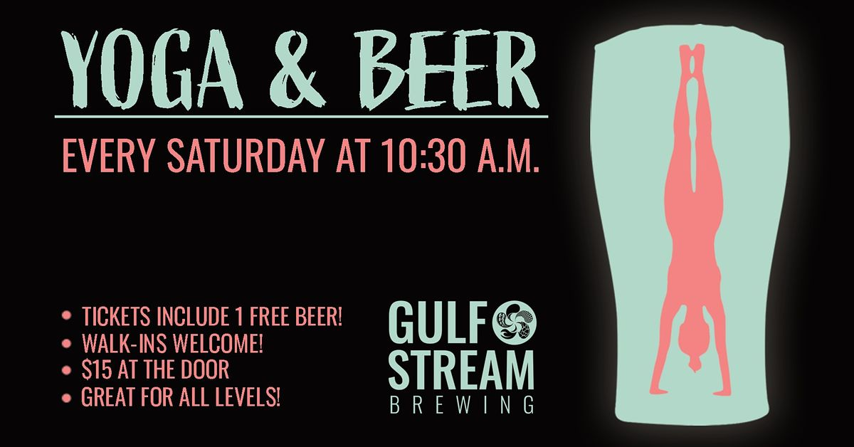 Yoga & Beer at Gulf Stream Brewing | Event in Fort Lauderdale | AllEvents.in