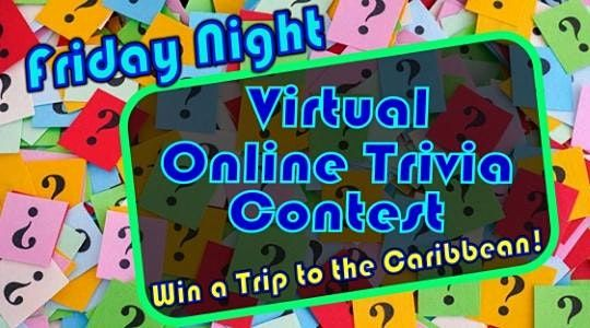 Virtual Trivia Night and Party: Win a Caribbean Trip, 30 July | Online Event | AllEvents.in
