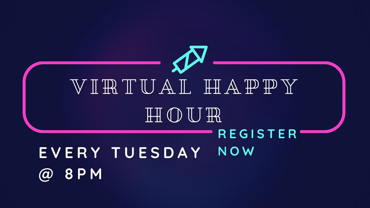 BLOC-O Virtual Happy Hour! | Online Event | AllEvents.in