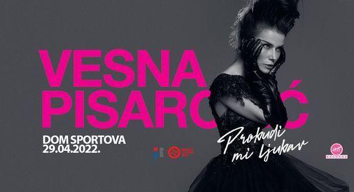 Vesna Pisarović - Zagreb, Dom sportova (pop koncert), 17 April | Event in Zagreb | AllEvents.in