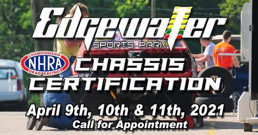 Edgewater Chassis Certification, 9 April | Event in Cleves | AllEvents.in