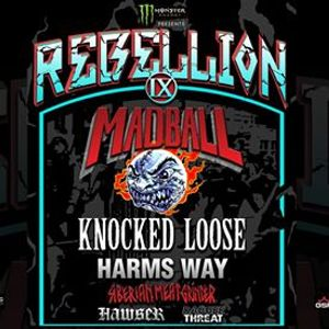 Rebellion Tour Madball  Knocked Loose  Harms Way Wiesbaden