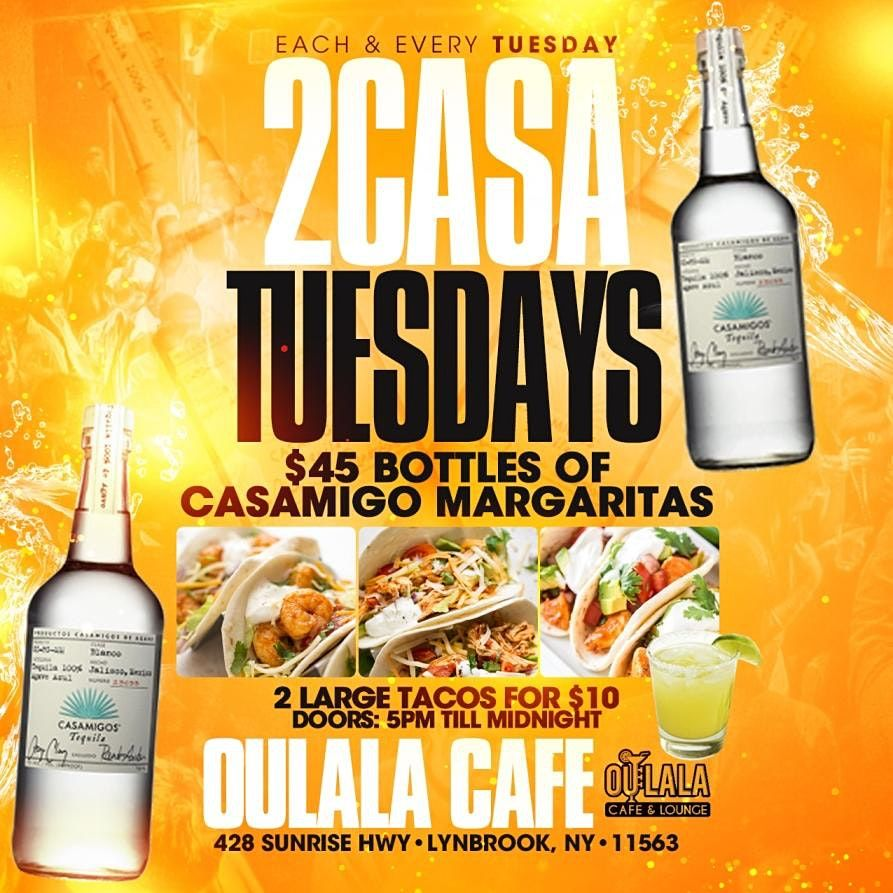 2 CASA TUESDAYS - The Perfect Mix of Tacos and Tequila Specials | Event in Lynbrook | AllEvents.in