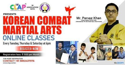 Online Korean Combat Martial Arts