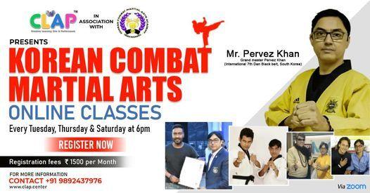 Online Korean Combat Martial Arts